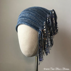 Denim Tweed *Funky Chic Hat* (FCNA28)