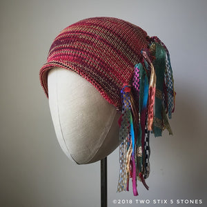 Red Tweed Signature *Funky Chic Hat* (FCNA2)