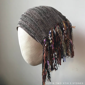 Tan Tweed *Funky Chic Hat* (FCNA5A)
