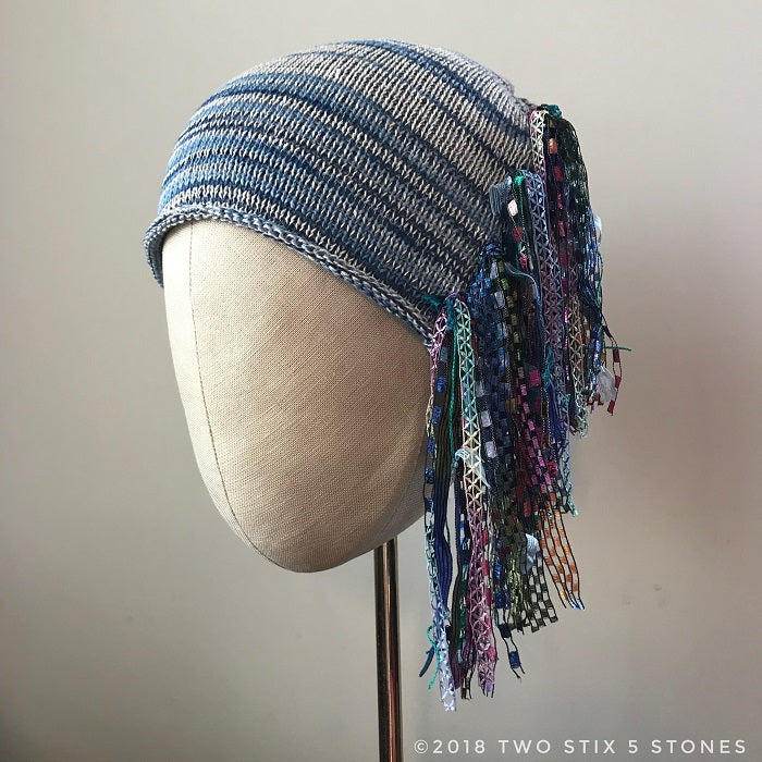 Blue Jean Tweed *Funky Chic Hat* (FCNA6)