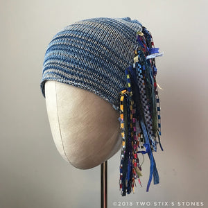 Blue JeanTweed *Funky Chic Hat* (FCNA7)