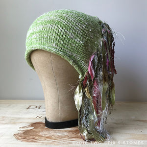 Green Tweed *Funky Chic Hat*