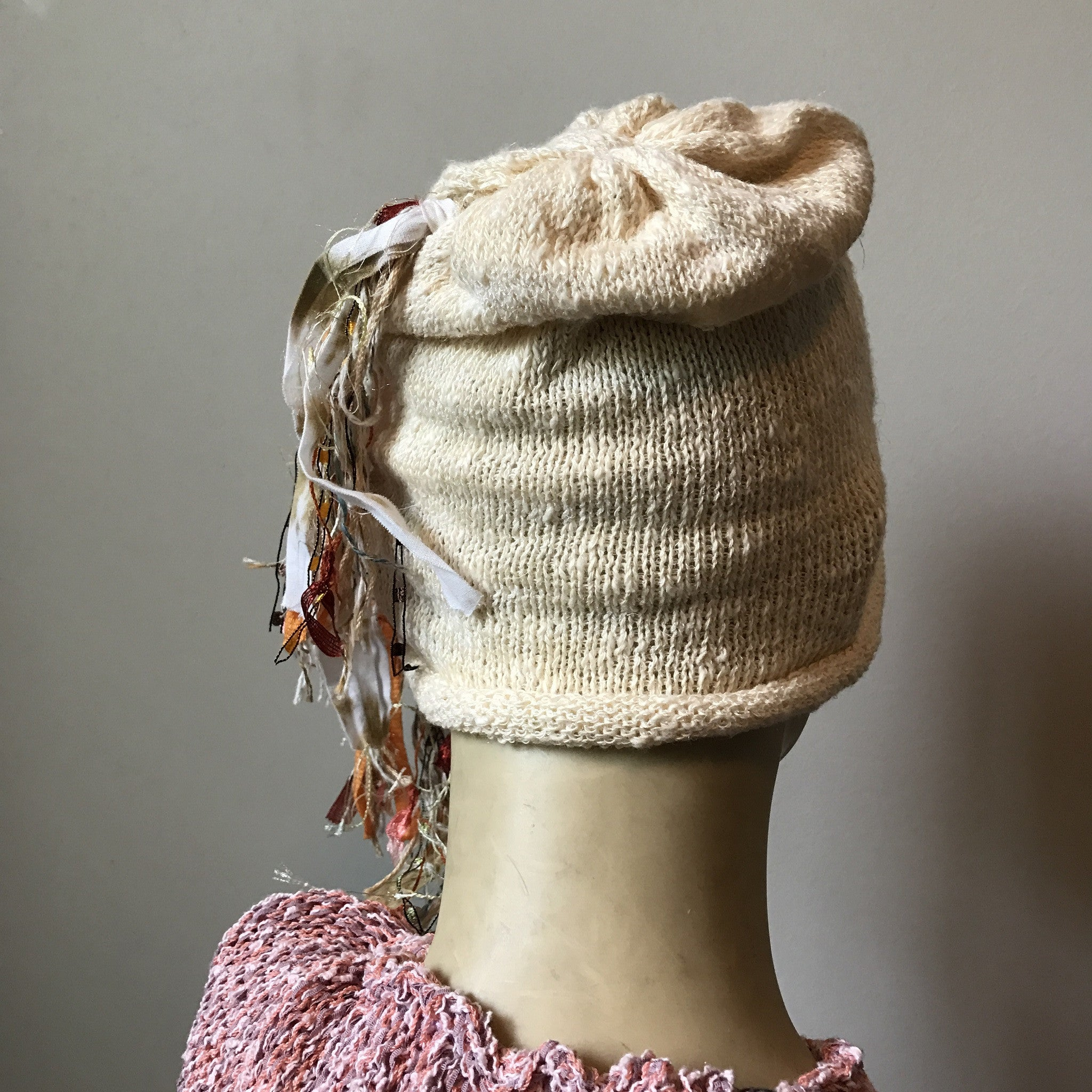 Cream Tweed *Funky Chic Hat* (FH13)