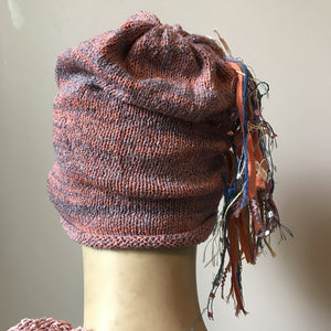 Pink & Lavender Funky Chic Hat (FH9)