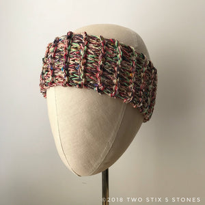 Red Multi-Tweed Headband (HB001)