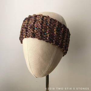 Brown Tweed Headband (HB002)