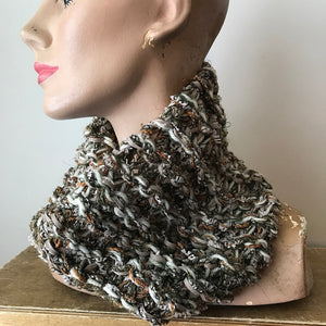 Grey Tweed Neck Warmer (NW13)