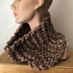 Brown Tweed Neck Warmer (NW09)