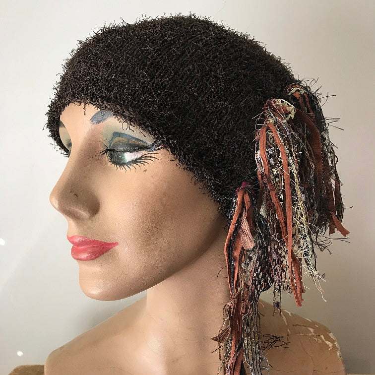 Chocolate Brown *Funky Chic Hat* (FH71)