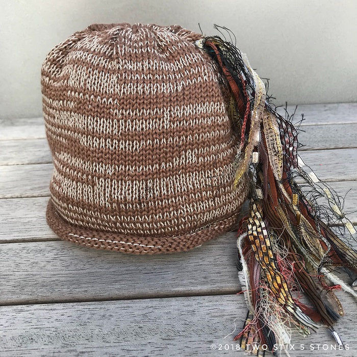 Brown Tweed *Funky Chic Hat* (BCF03)