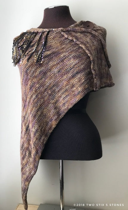 Brown Tweed Shawl (SH06)