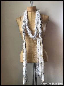 Winter White Scarf