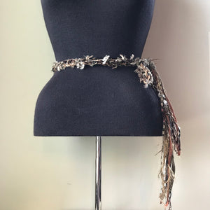 Brown Toned Scarf/Belt/Headband (TS016)