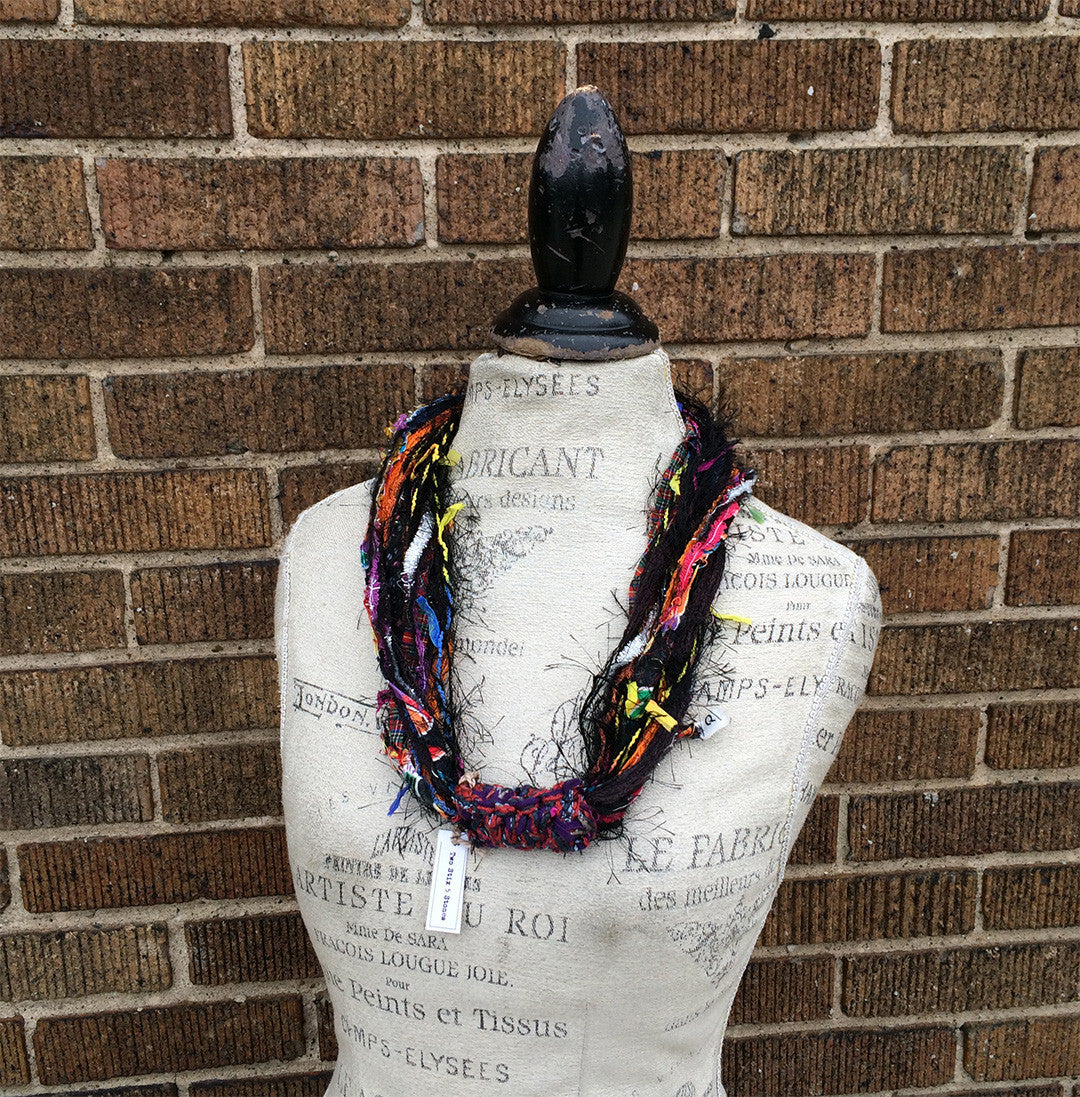 Funky Fiber Necklace (N02)