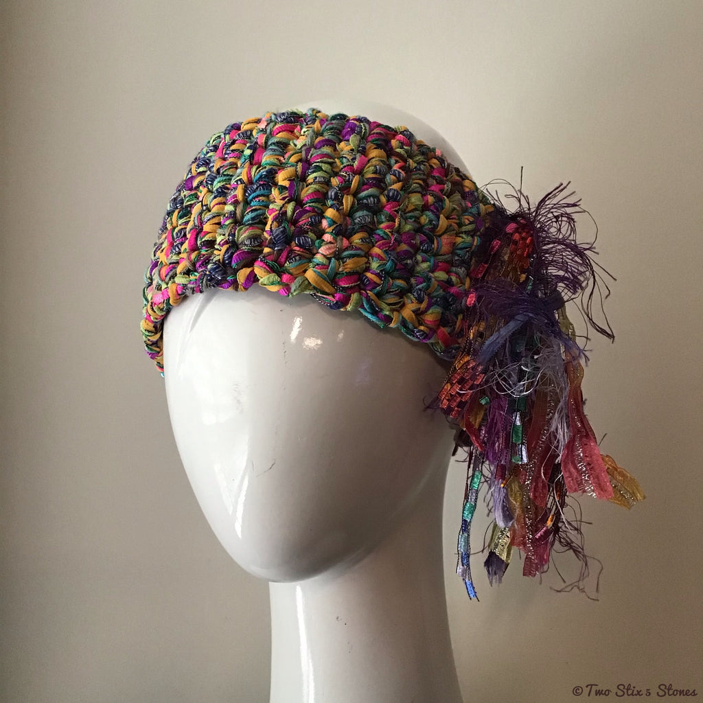 Luxe Colorful *Funky Chic* Headband