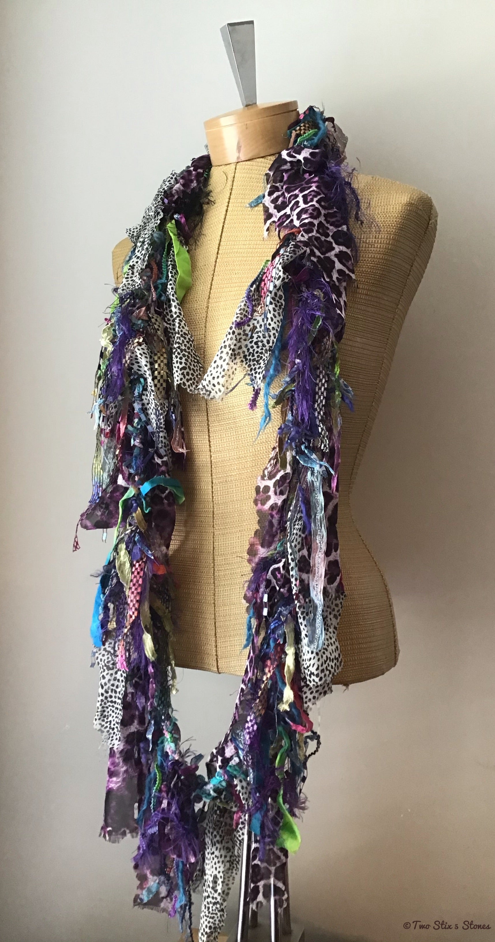 Exotic Colorful Scarf