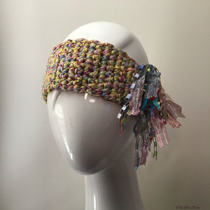 Yellow Tweed *Funky Chic* Headband