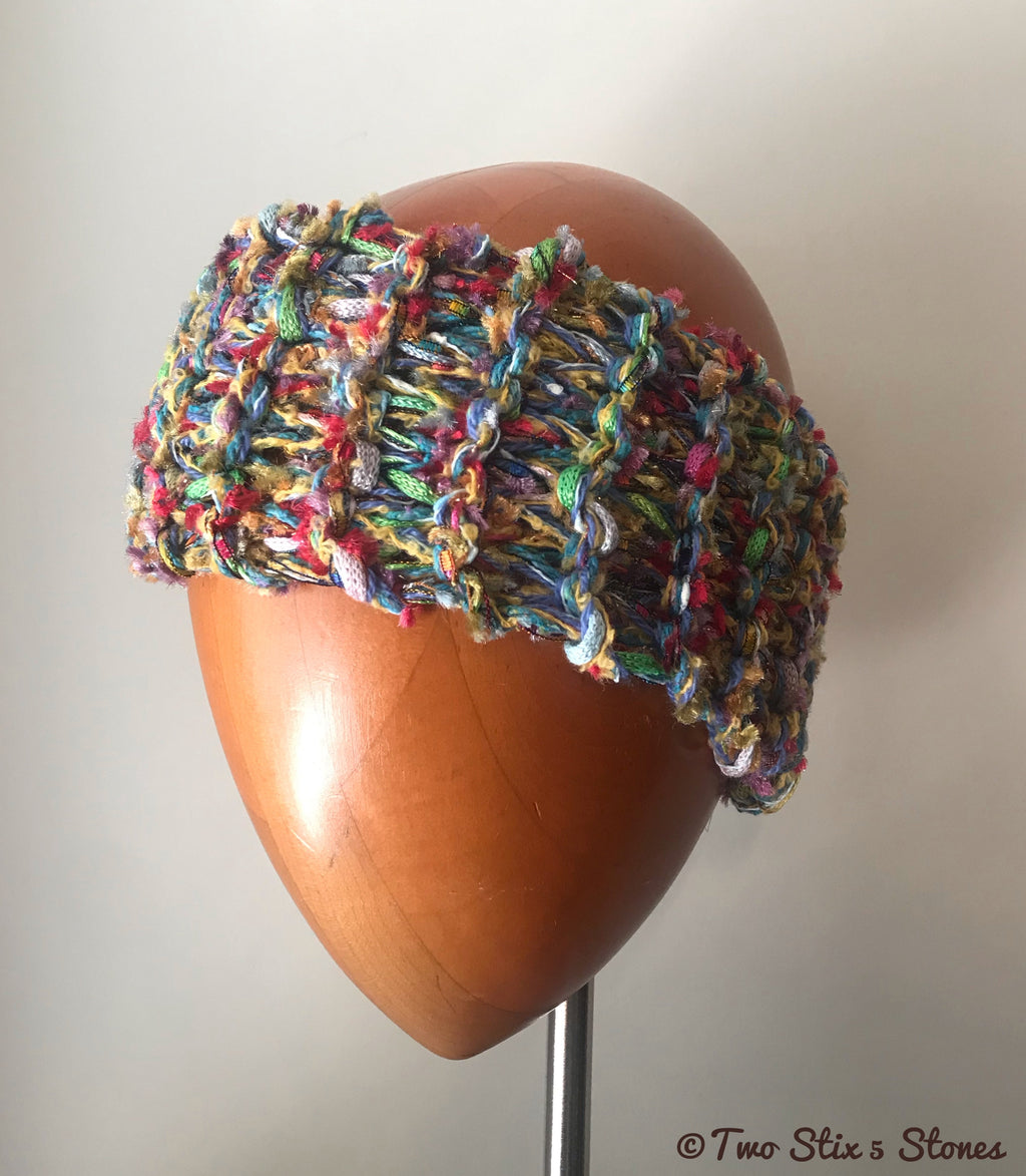 Colorful Knit Headband