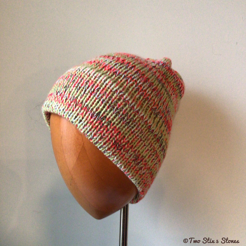 Unisex Electric Tweed Knit Beanie
