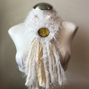 Winter White *Diva Chic Scarf* (DS18)