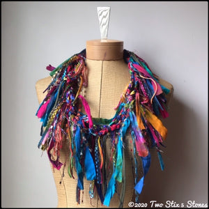 Exotic Fiber Necklace