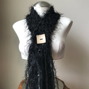 Black *Diva Chic* Scarf, (DS15)