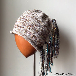 Oatmeal Tweed Signature *Funky Chic* Hat