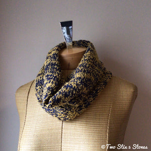 Yellow & Blue Cowl