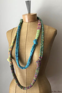 Vibrant Knotted Necklace