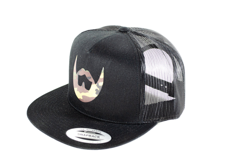 Camo Icon Snapback - Always Bearded Lifestyle