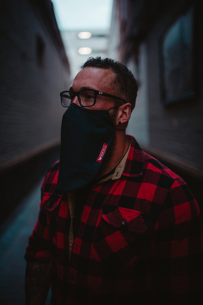 Beard Tarp™ - Solid Black