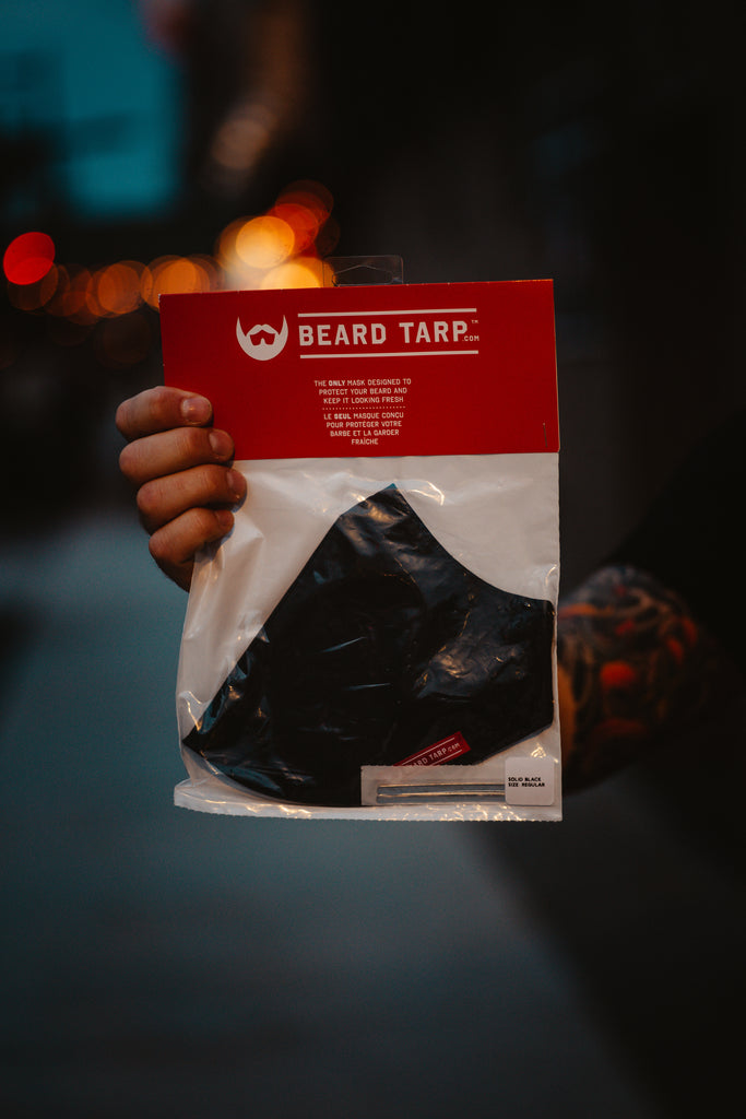 Beard Tarp™ Green Camo