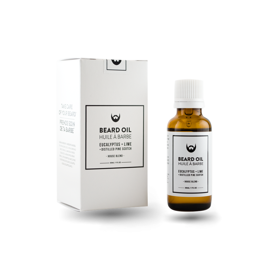 Beard Oil: Eucalyptus + Lime with Distilled Pine Scotch Needle - Always Bearded Lifestyle