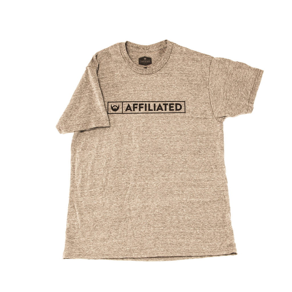 Affiliated Tri-Blend Tee - Always Bearded Lifestyle