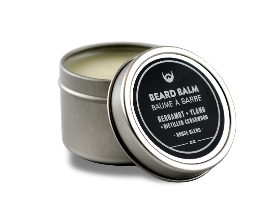 Beard Balm: Bergamot + Ylang with Distilled Cedarwood - Always Bearded Lifestyle