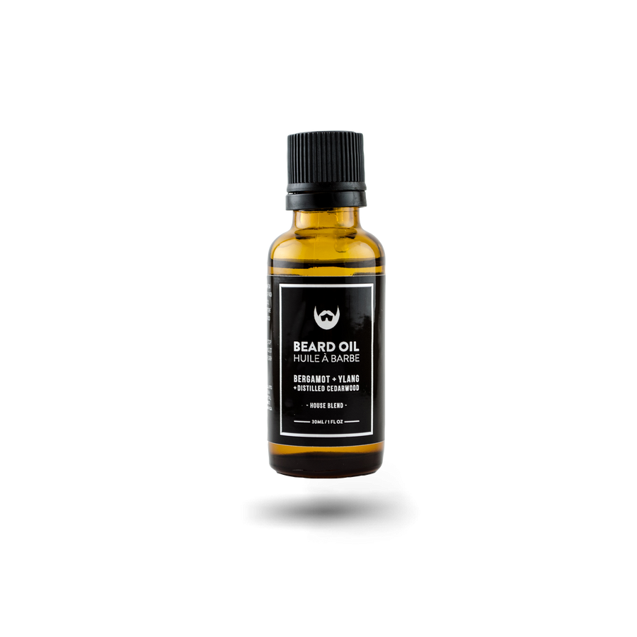 Beard Oil: Bergamot + Ylang with Distilled Cedarwood - Always Bearded Lifestyle