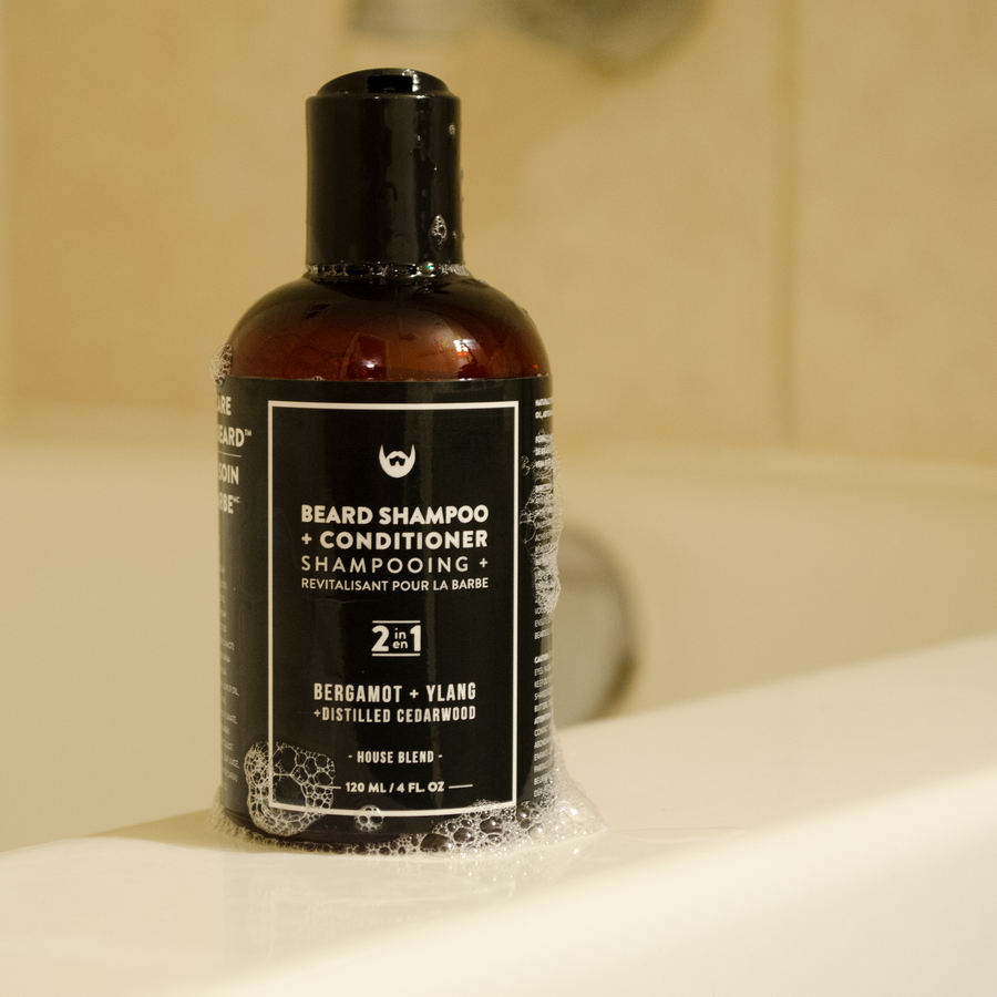 Beard Shampoo and Conditioner: Bergamot + Ylang with Distilled Cedarwood