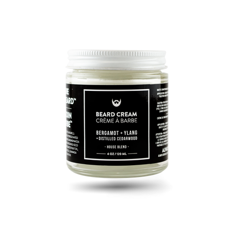 Beard Cream: Bergamot + Ylang with Distilled Cedarwood