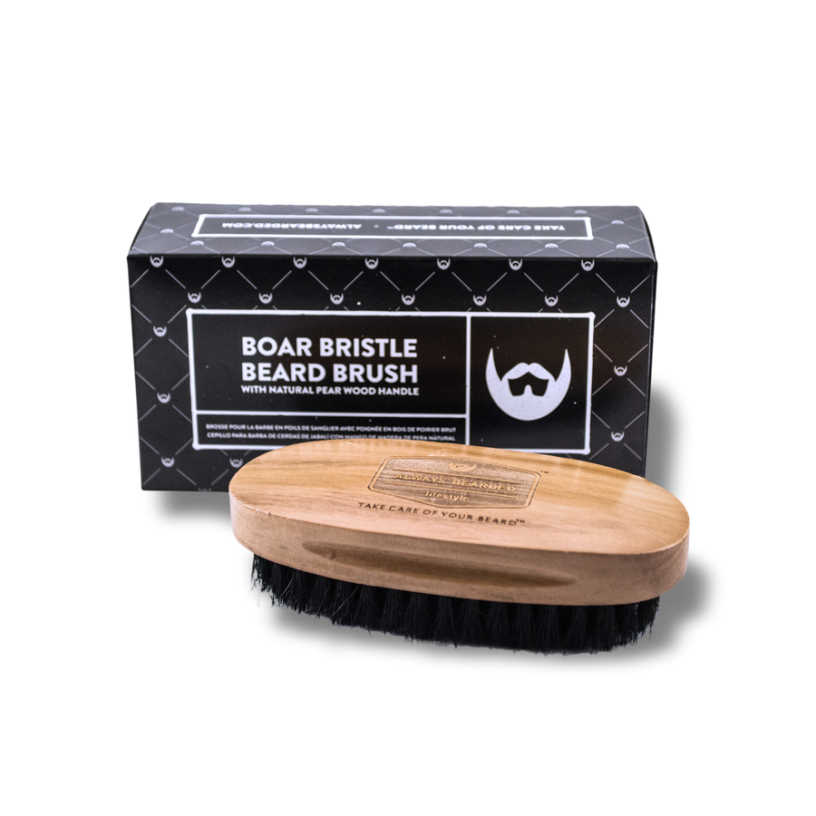 Boar Bristle Beard Brush - Always Bearded Lifestyle