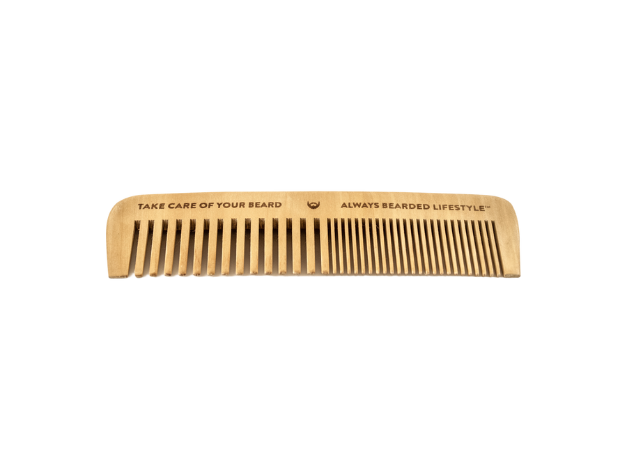 Anti-Static Maple Beard Comb - Always Bearded Lifestyle
