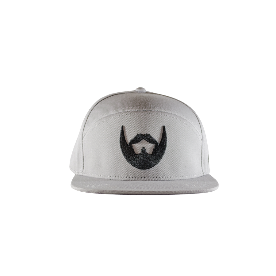 Gainsboro Grey Snapback - Always Bearded Lifestyle