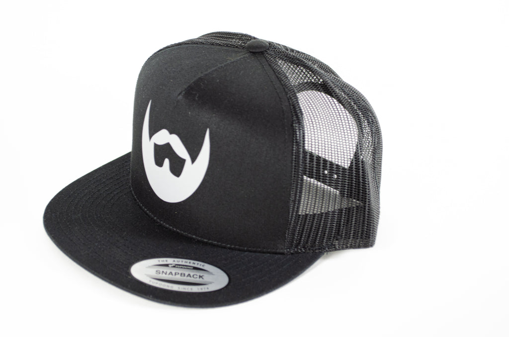 Silver Icon Snapback - Always Bearded Lifestyle