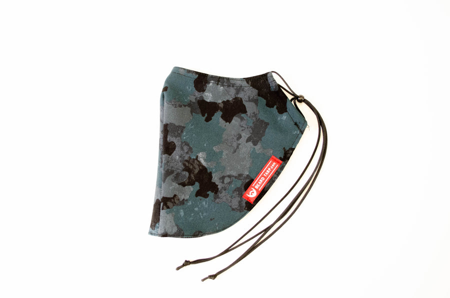 Beard Tarp™ Dark Camo