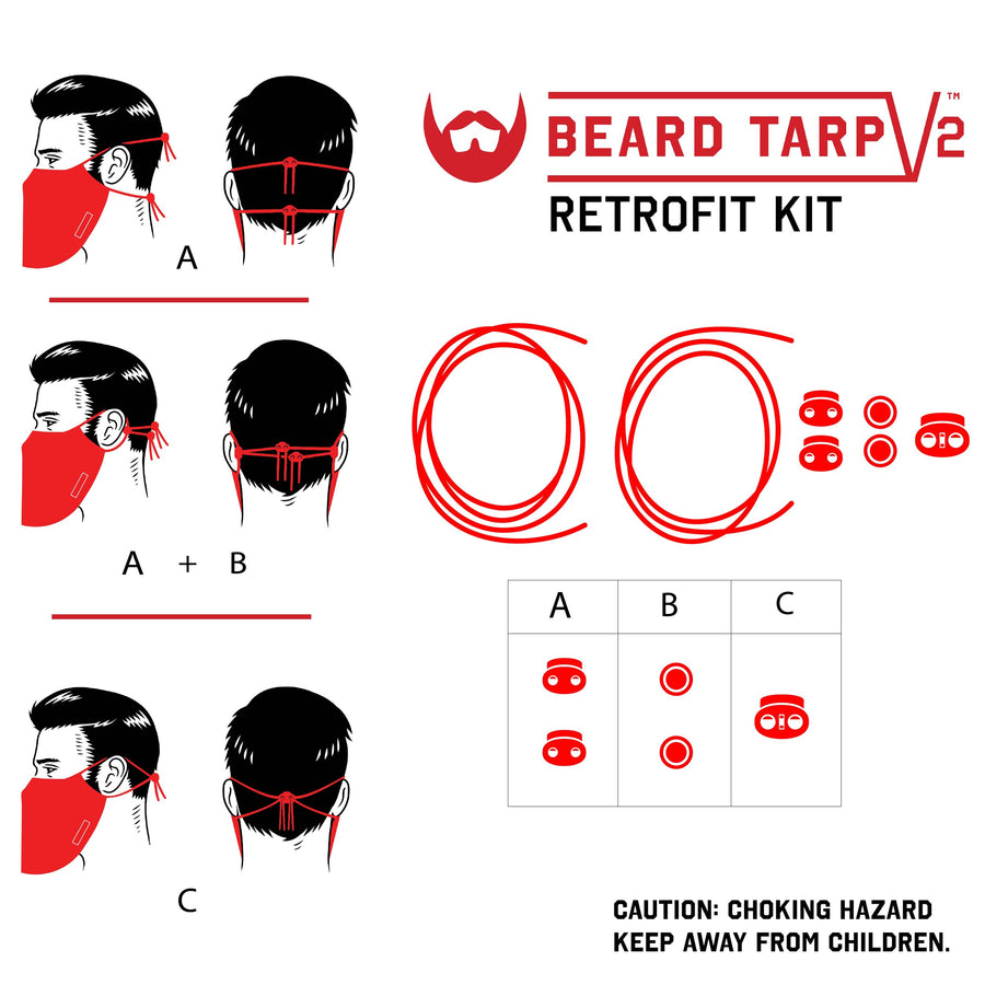 Beard Tarp™ V2 Harness Retrofit Kit