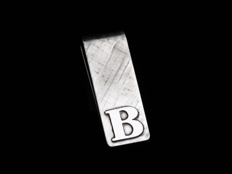 Classic Florentine Money Clip with Custom Monogram