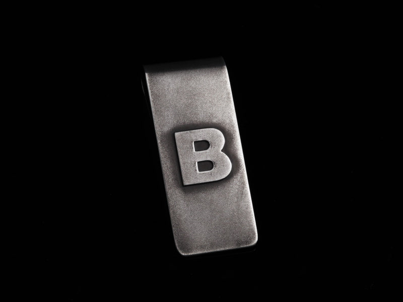 Classic PB Money Clip with Custom Monogram