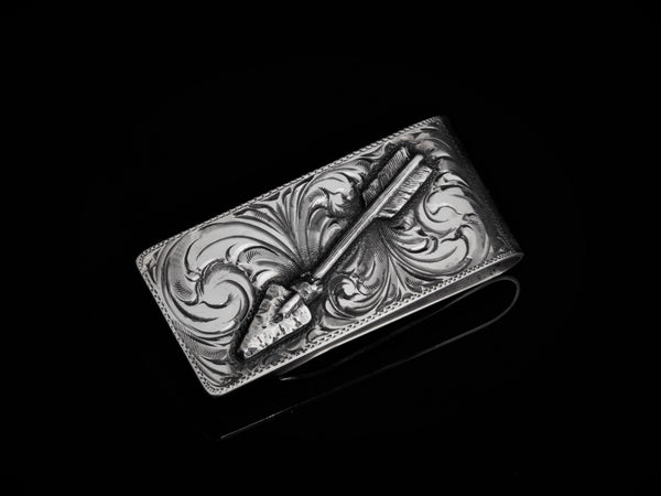 Large Arrow Money Clip