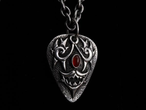 Ruby Guitar Pick Necklace-Gifts-Lee Downey-Comstock Heritage, Inc.