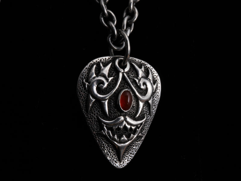 Ruby Guitar Pick Necklace - Comstock Heritage, Inc.