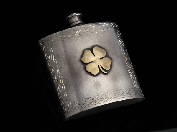 4 Leaf Clover Flask